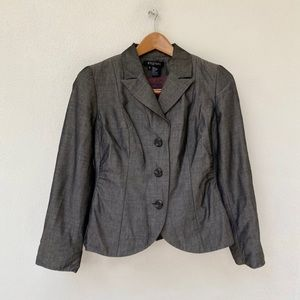 ETCÉTERA blazer in charcoal color